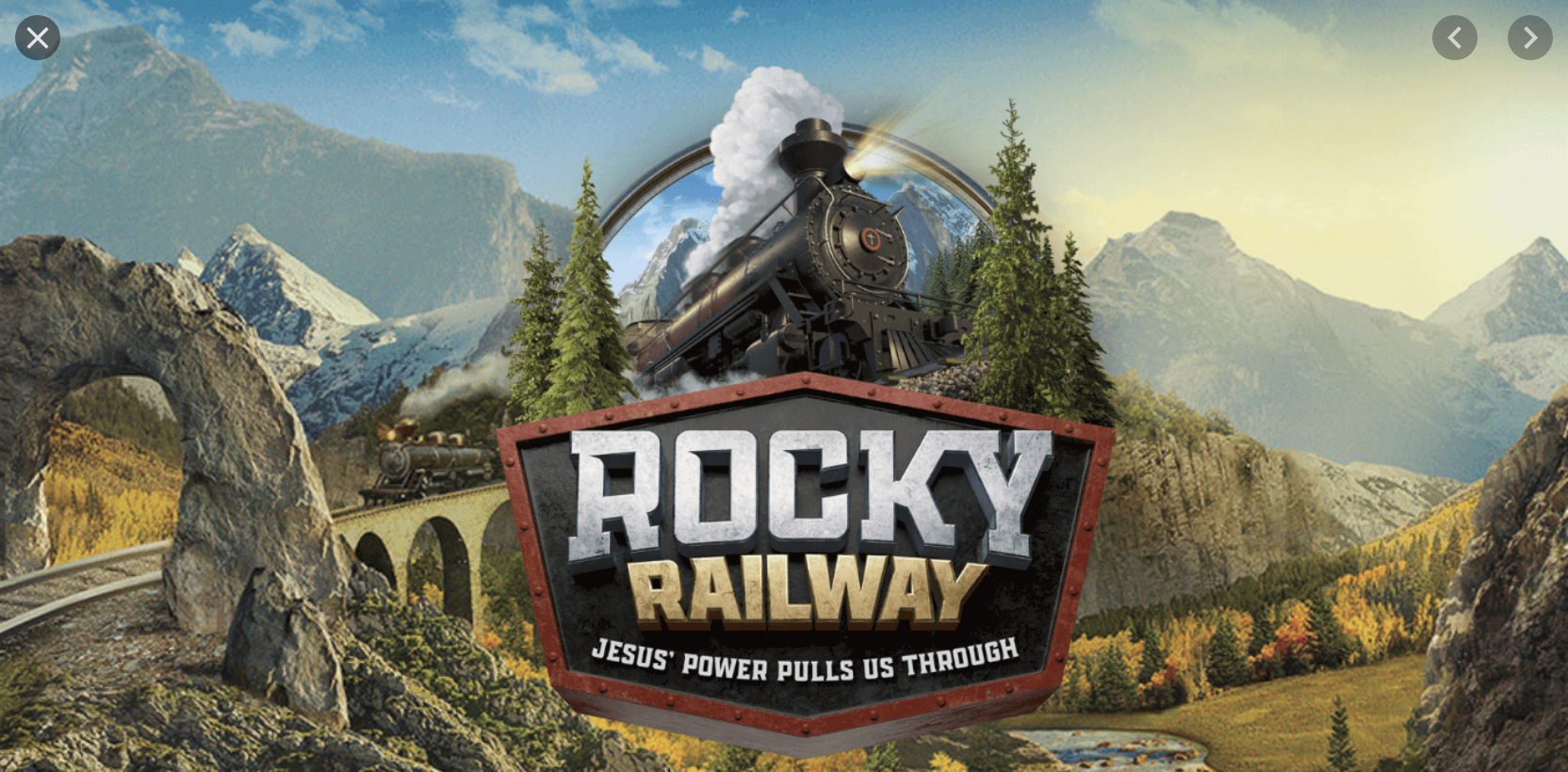 ALL ABOARD FOR VBS 2021:Rocky Railway