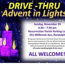 Advent in Lights at Resurrection Parish
