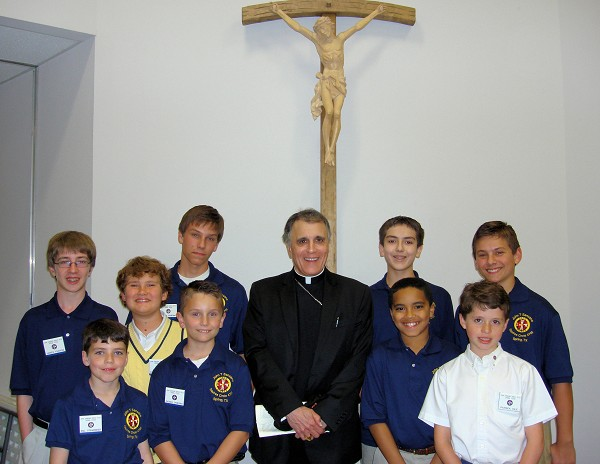 Squires serve and Give to Vocations