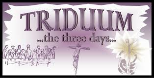 Special HOLY WEEK/TRIDUUM Schedule
