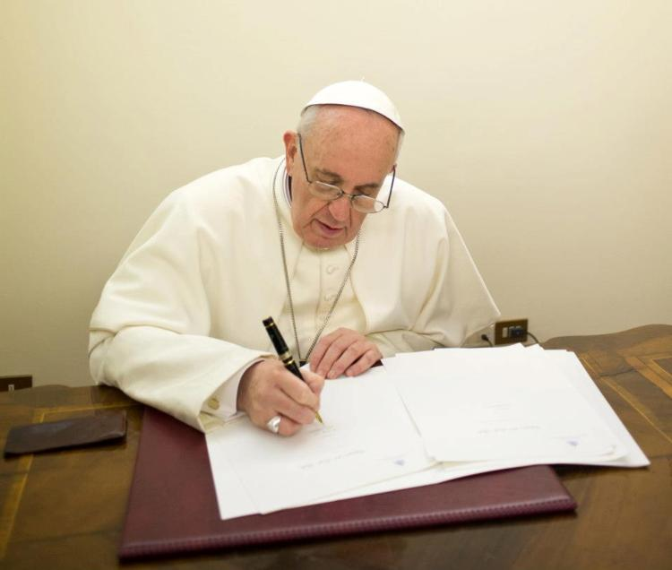 Pope Francis Issues New Encyclical