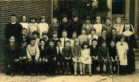 St. Joseph School in Monroeville 1925 - From the ACPL Digital Collection