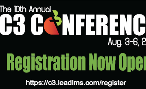 Register for C3 Conference AUG. 3-6 !