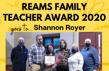 Mrs. Royer wins Award!