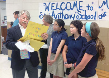 Attorney General, Greg Zoeller Visits SAS!!
