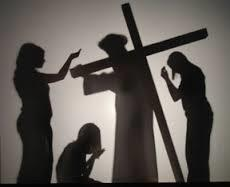 Silhouette Stations of the Cross