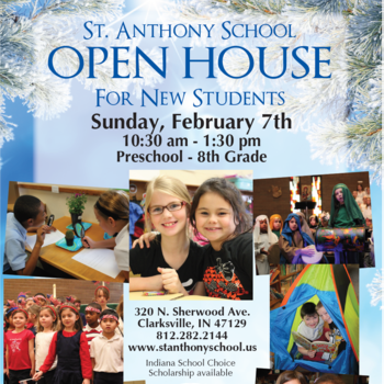 St. Anthony's School's Open House 2/7/16