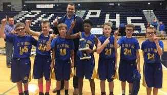 Congratulations 5/6 Grade Boys Basketball Team!