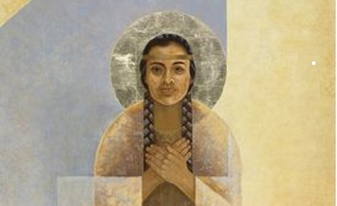 Stations of the Cross - St. Kateri Circle