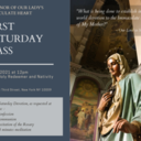 First Saturday Mass and Devotion