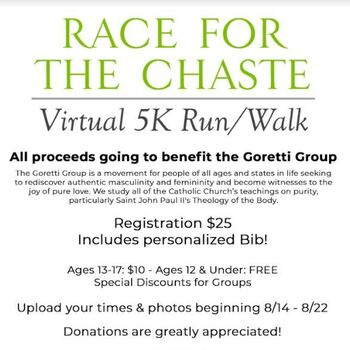 2021 Virtual Race for the Chaste