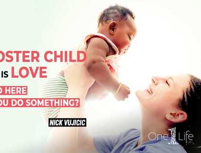 Catholics Love Foster: Nick Vujicic sparks a moment of connection and celebration