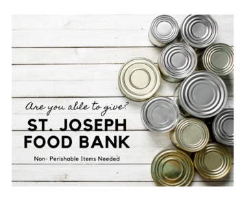 St. Joseph Food Bank Needs Your Help