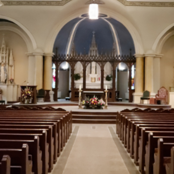 Time Change for Tuesday Mass