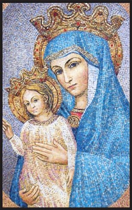 Mary, Mother of the Church. Pray for us.