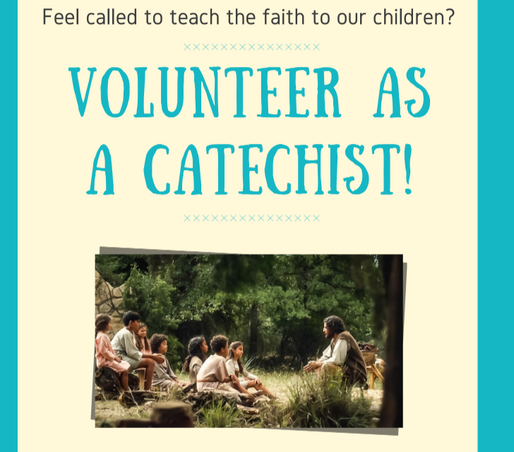 Volunteer as a Catechist!