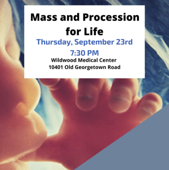 Mass and Procession for Life