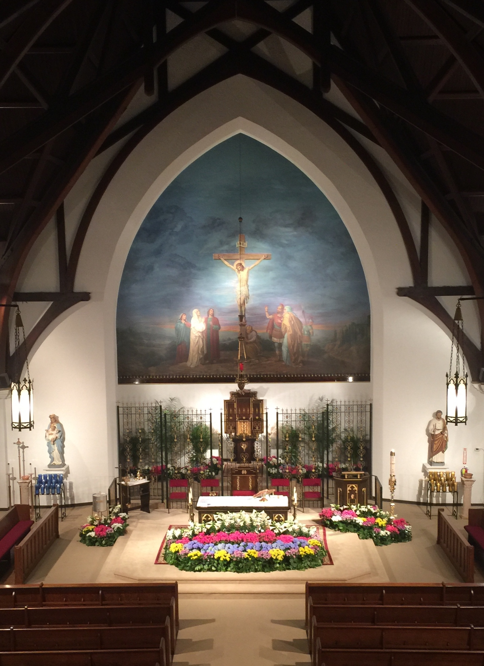 Welcome to  Sacred Heart and Our Lady of Pompeii Parish