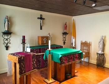 Students Find Solace and Peace at our Campus Chapel