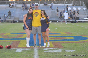 Jags Pause in Gratitude and Memory of Mr. Tim during Friday's game (Sept 24)