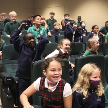 KAAL weather lab visits Pacelli