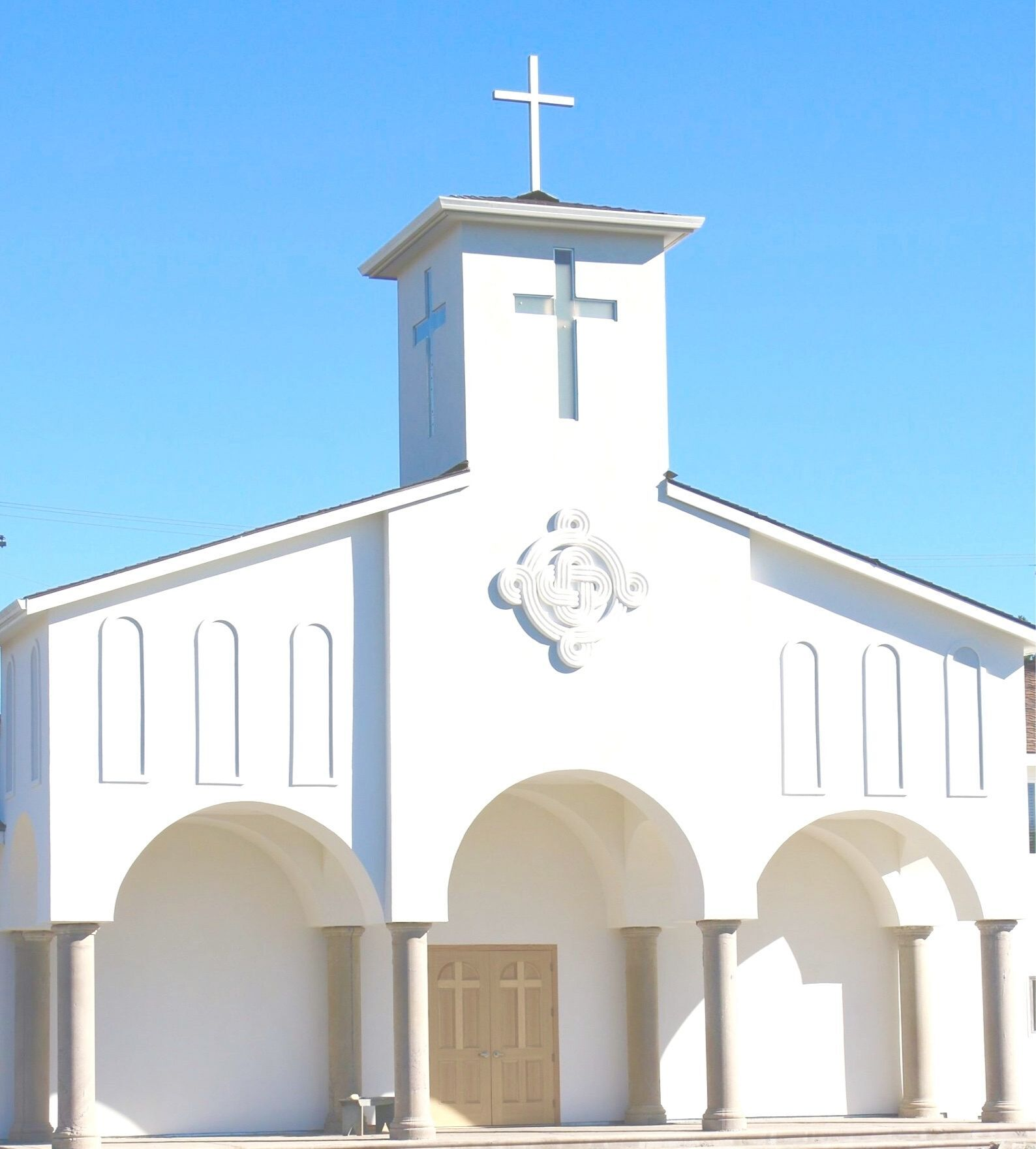 Due to COVID-19, we are following the directives of the Santa Clara County Public Health Officer. Currently, we are worshiping outdoors and are required to maintain a list of attendees for contact tracing purposes. Please perform a self assessment prior to arrival on church grounds.    Click the link below to register for mass.    Thank you and God Bless!
