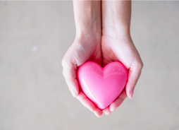 Give from the Heart.