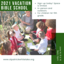 2021 Vacation Bible School