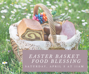 Ester Basket Food Blessing