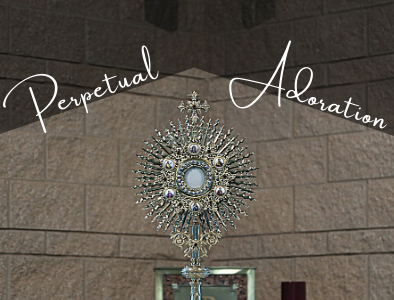 Our parish is blessed with Perpetual Adoration! Please sign up as an adorer.