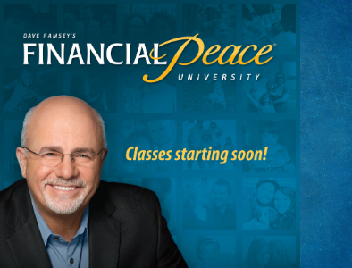 Financial Peace University starting October 12