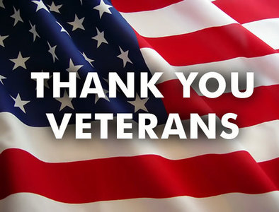 Veterans, please submit your years of service by Nov 1