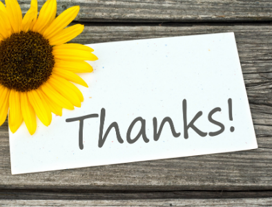 "A big ""thank you"" to all of those participating in online giving with WeShare!"