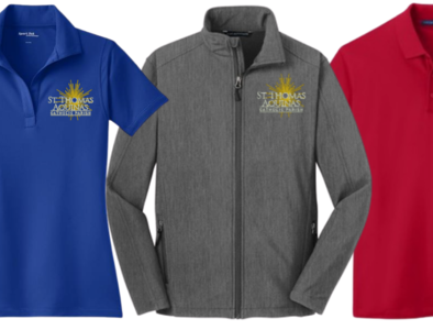 STA Logo Apparel - order by Nov 1
