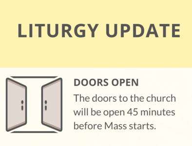 Updated Protocols at Mass