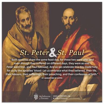 Solemnity of Saints Peter and Paul