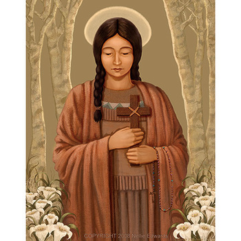 Seven Ways St. Kateri Can Inspire You