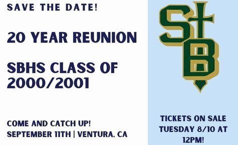 Class of 2000/2001 RSVP and Tickets