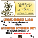 Blessing of Pets, celebrating and remembering St. Francis