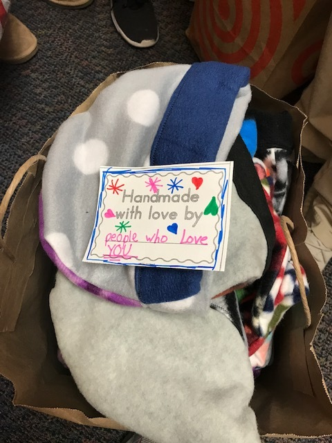 Hats for Sharing & Caring Hands