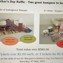 Mother's Day Raffle – Two great hampers to be won