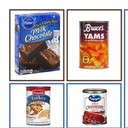Brownie Mixes, Holiday Sides Fixings, Cereal