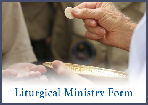 Liturgical Ministry Form