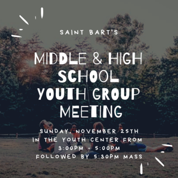 All Youth Group Meeting