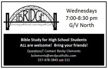 The Bridge High School Bible Study