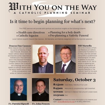 With You on the Way - <div>   A Catholic Planning Seminar </div>