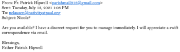 More Phishing Emails from