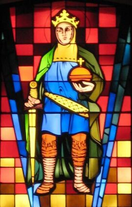 St. Ferdinand stained glass
