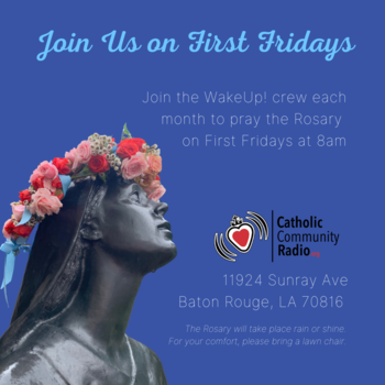 First Friday Rosary
