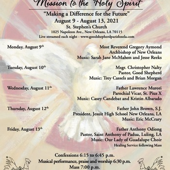 Mission to the Holy Spirit